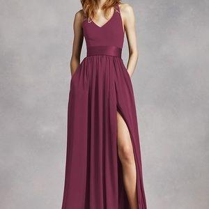Verá wang bridesmaid dress